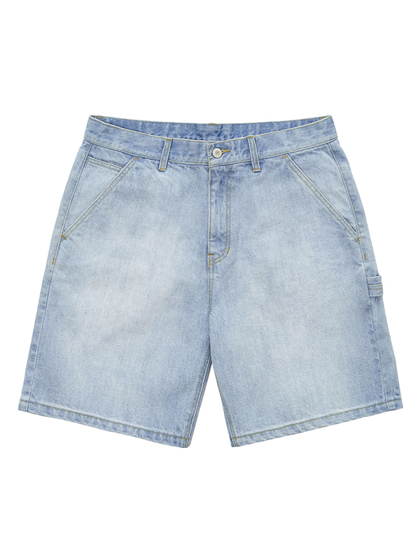 WASHED SHORTS GS [LIGHT BLUE]