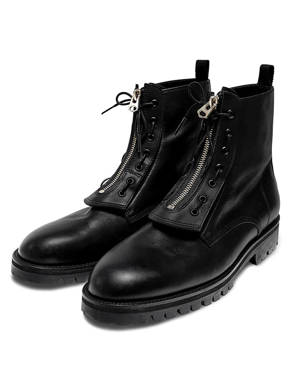 COMBAT BOOTS HS [BLACK_LEATHER]