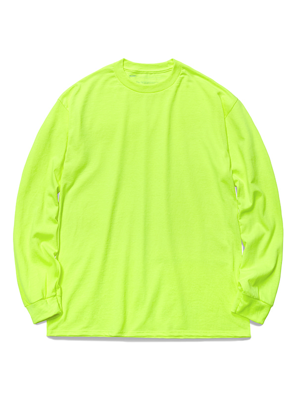 PAVEMENT LONG SLEEVE GA [NEON GREEN]