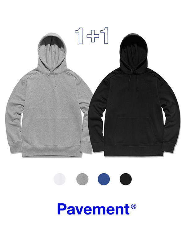1+1 PAVEMENT HOODIE PULLOVER GA