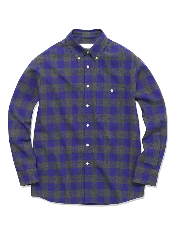 BUFFALO CHECK SHIRTS HS [PURPLE]