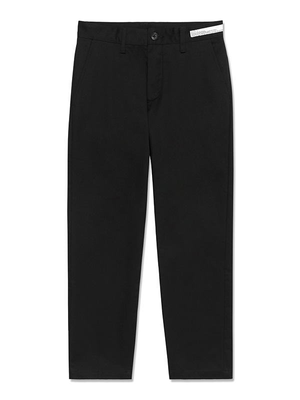 CHINO PANTS HS [BLACK]