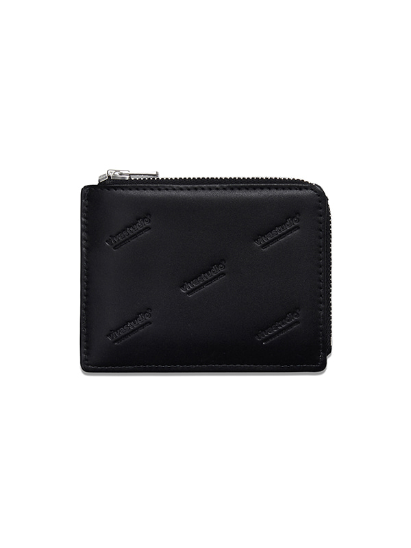 LEATHER WALLET HS [BLACK]