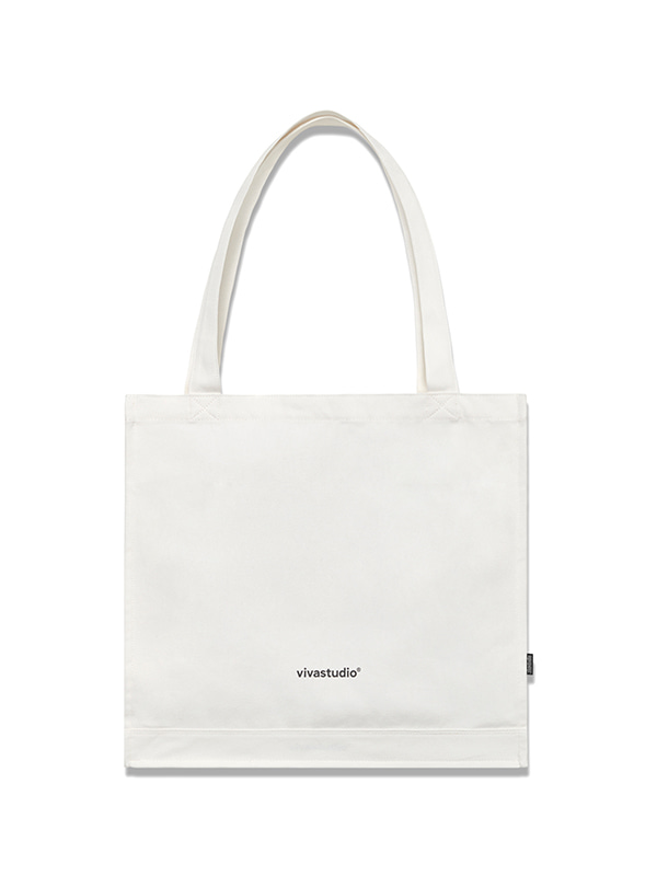 ORIGINAL LOGO CANVAS BAG HS [IVORY]