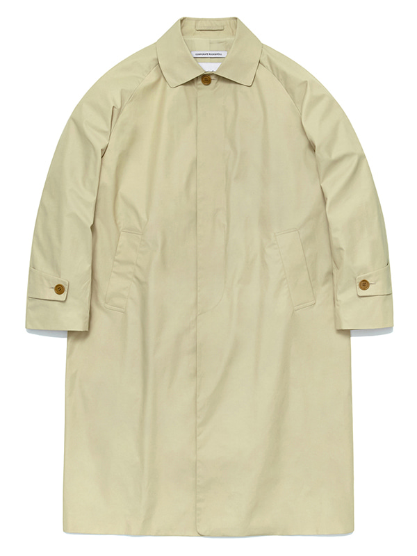 LONG SINGLE COAT HS [BEIGE]