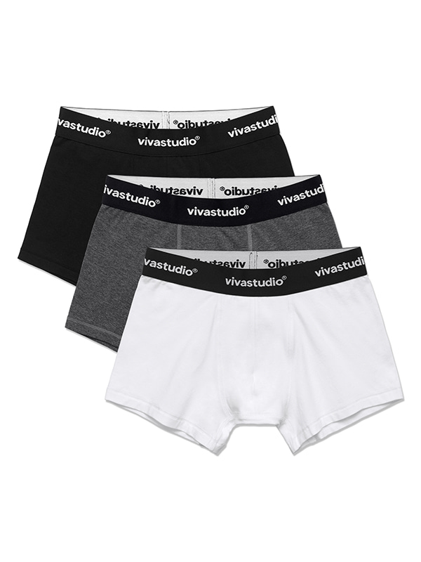 VIVASTUDIO COTTON TRUNKS HS (3PACK)