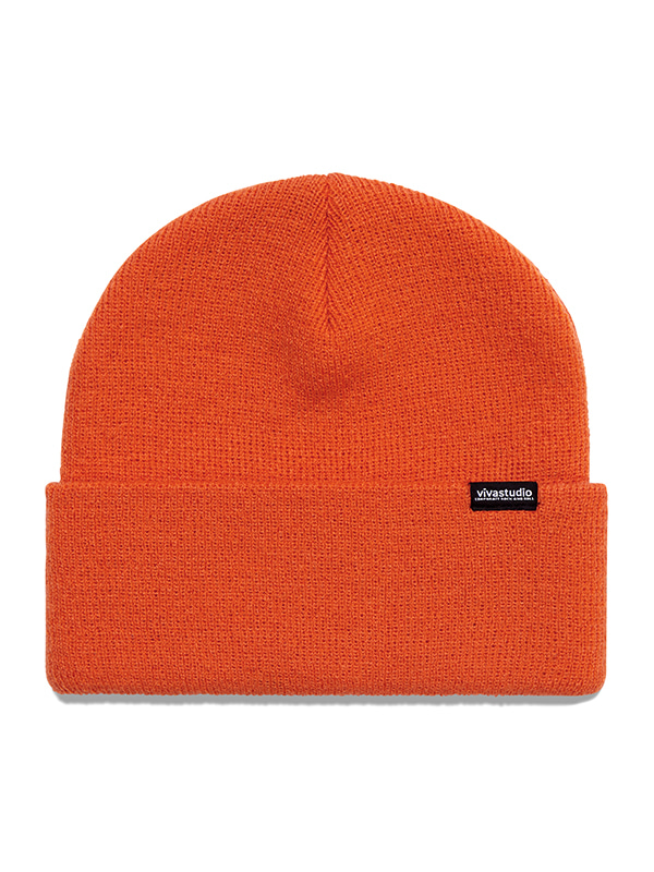 ORIGINAL LOGO LABEL BEANIE HS [ORANGE]