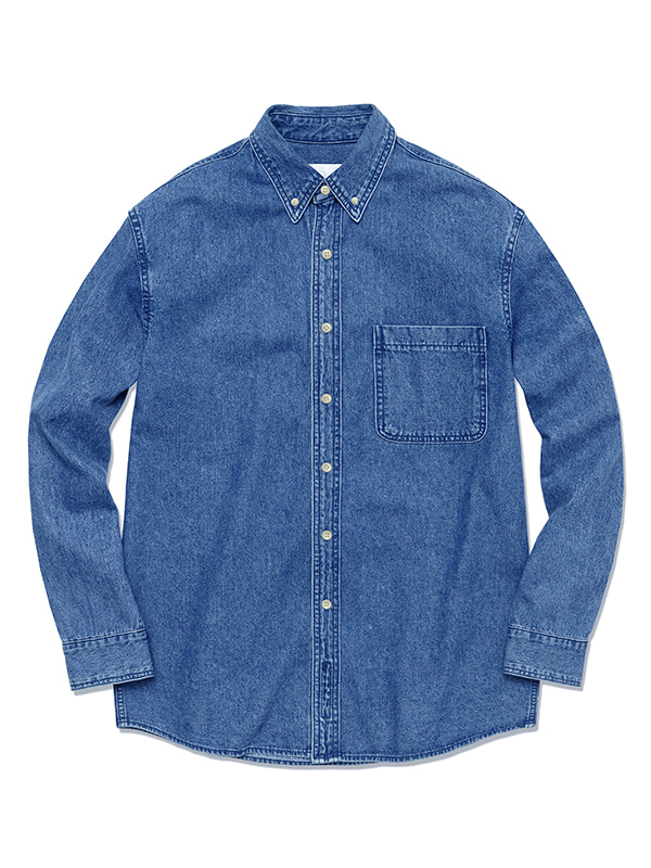 DENIM SHIRTS HS [BLUE]