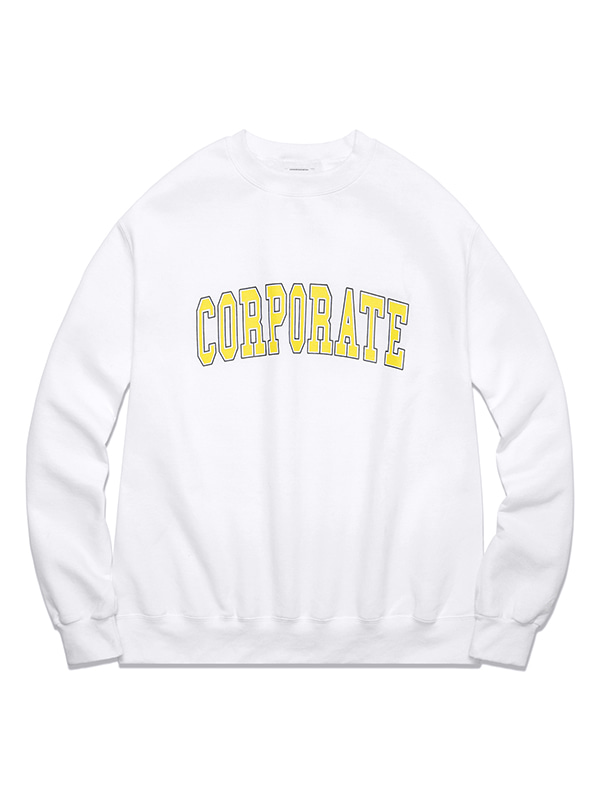 CORPORATE CREWNECK HS [WHITE]
