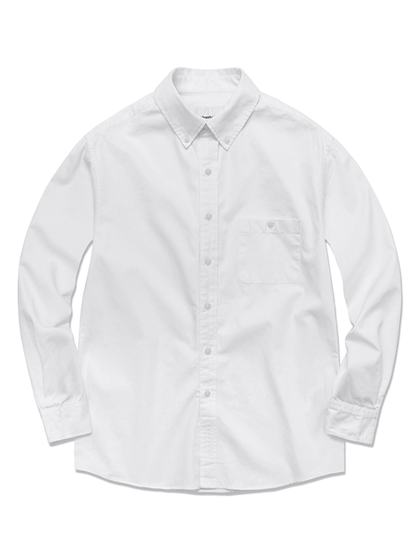 OXFORD SHIRTS HS [WHITE]
