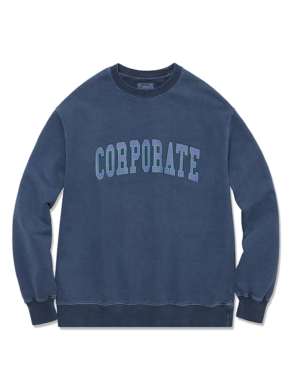 CORPORATE CREWNECK HS [NAVY]