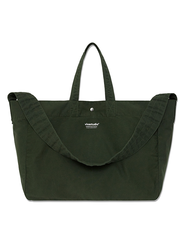ORIGINAL LOGO 2 WAY BAG HS [KHAKI]