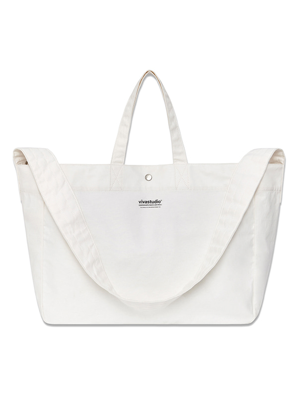 ORIGINAL LOGO 2 WAY BAG HS [IVORY]
