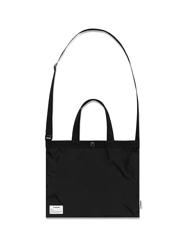 RIPSTOP CROSS BAG HS [BLACK]