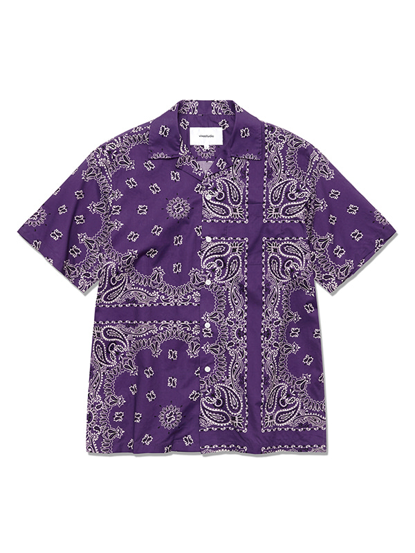 BANDANA SHIRTS HS [PURPLE]