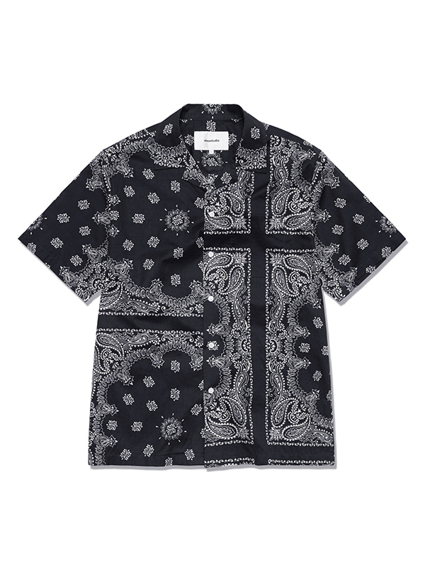 BANDANA SHIRTS HS [BLACK]