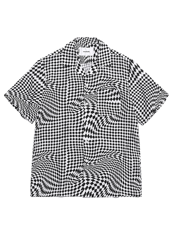 CHECKERBOARD SHIRTS HS [BLACK]