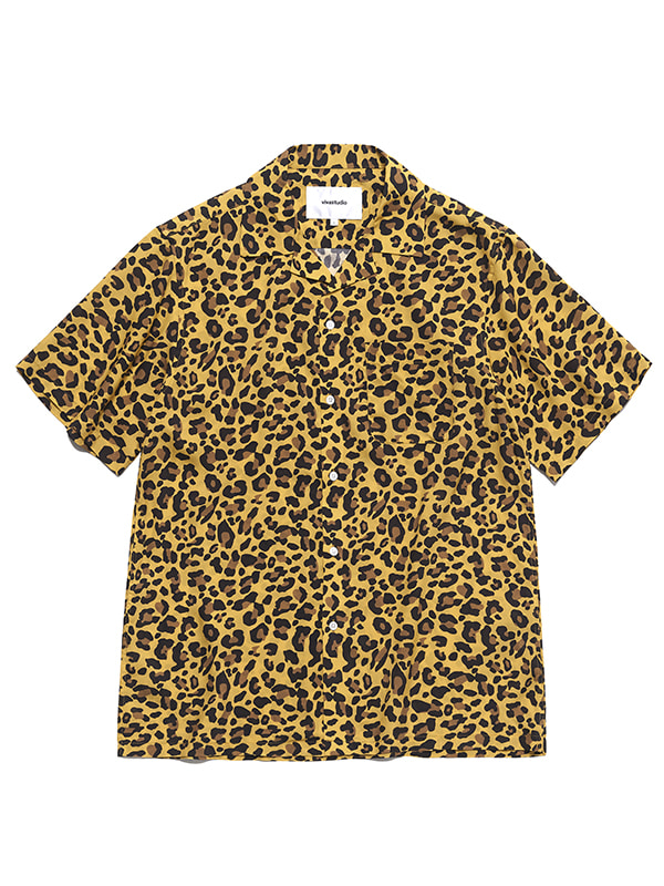 LEOPARD SHIRTS HS [YELLOW]