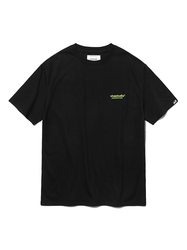 BOX LOGO SHORT SLEEVE HS [BLACK]
