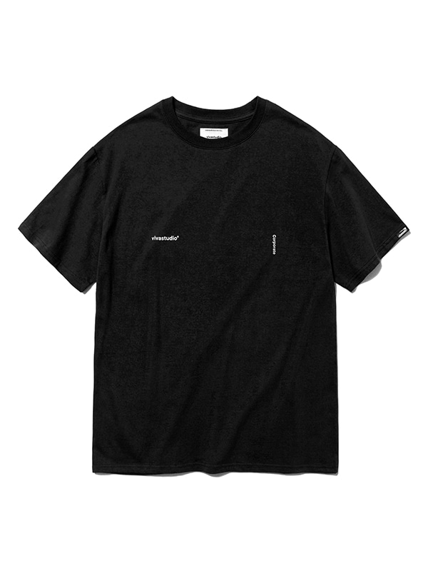 CORPORATE SHORT SLEEVE HS [BLACK]