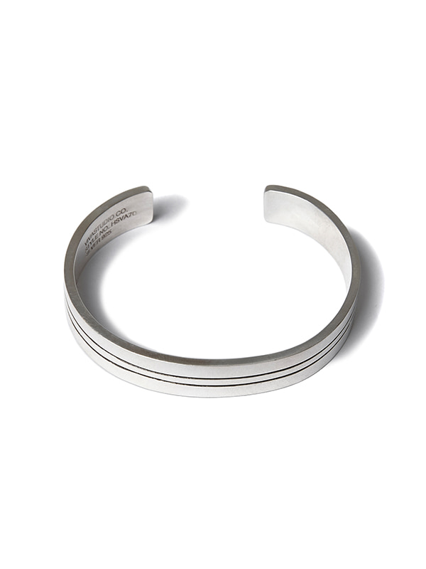 SILVER BANGLE TYPE-1 HS [SILVER]