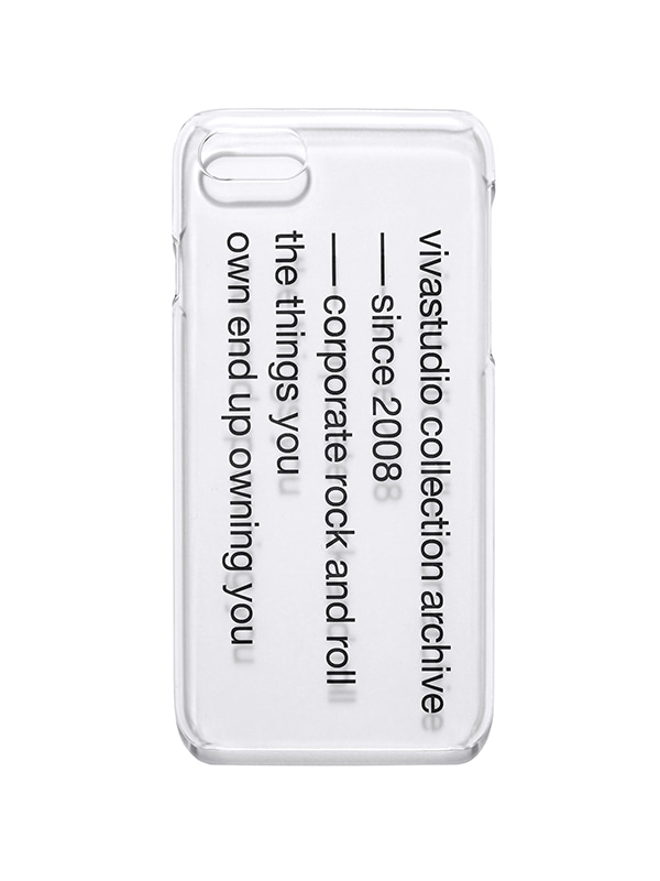 SLOGAN PHONE CASE HS [CLEAR]