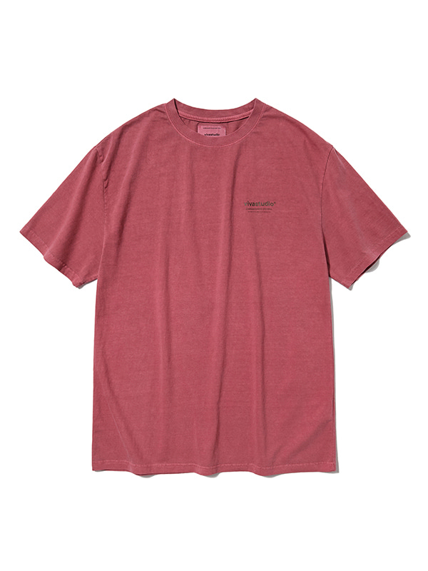VIVASTUDIO LOGO SHORT SLEEVE HS [RED]