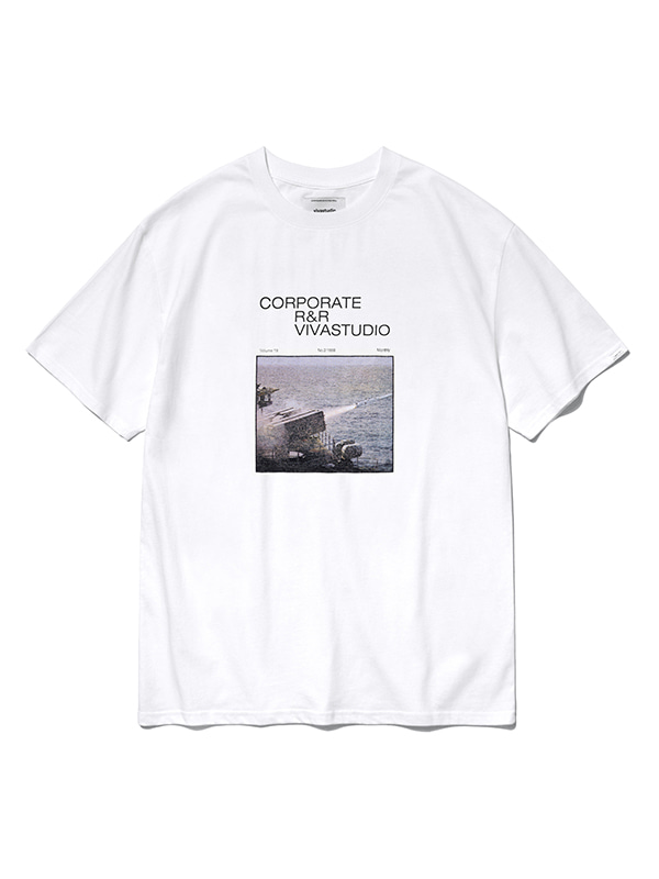 MISSILE SHORT SLEEVE HS [WHITE]