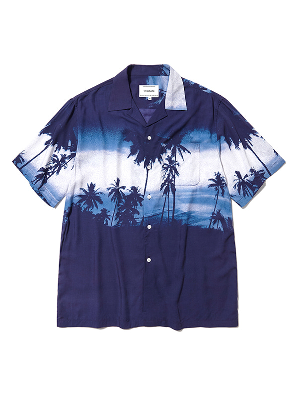 SUNSET SHIRTS HS [NAVY]