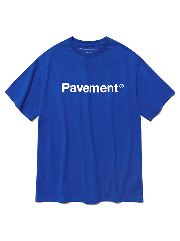 BASIC LOGO SHORT SLEEVE HS [BLUE]