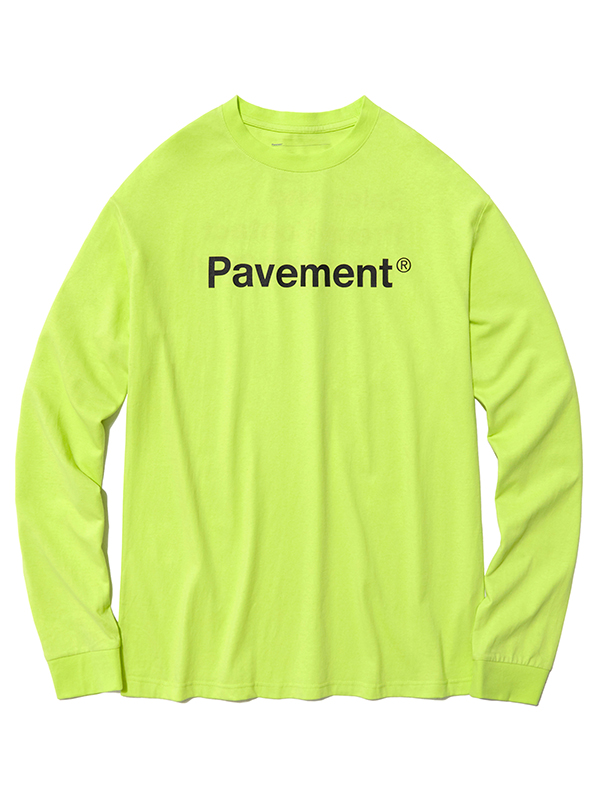 BASIC SALES LONG SLEEVE HS [NEON GREEN]