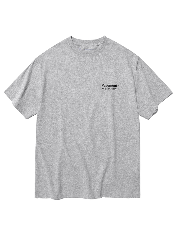 SALES SHORT SLEEVE HS [MELANGE]