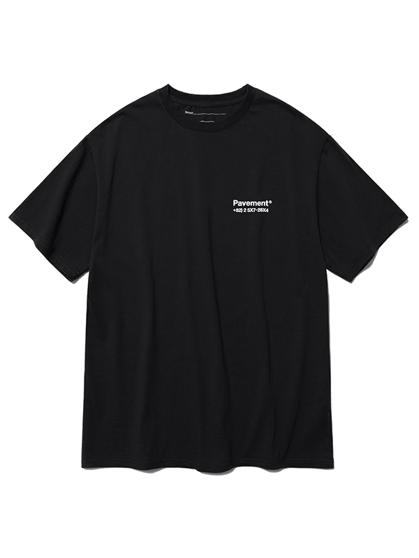 SALES SHORT SLEEVE HS [BLACK]