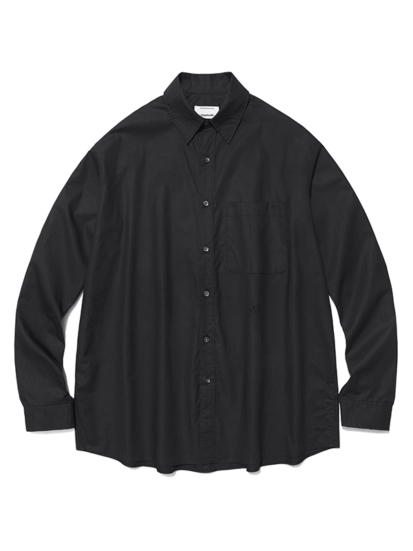 LOOSE FIT SHIRTS HA [BLACK]