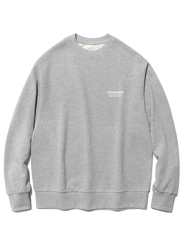 LOCATION LOGO CREWNECK HA [MELANGE]