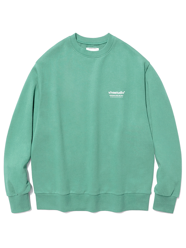 LOCATION LOGO CREWNECK HA [MINT]
