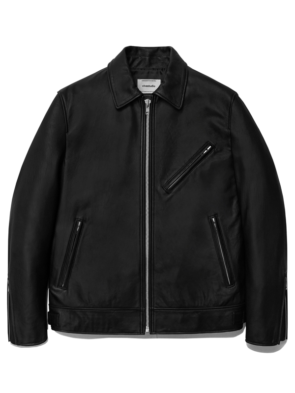 SINGLE RIDERS JACKET HA [BLACK]