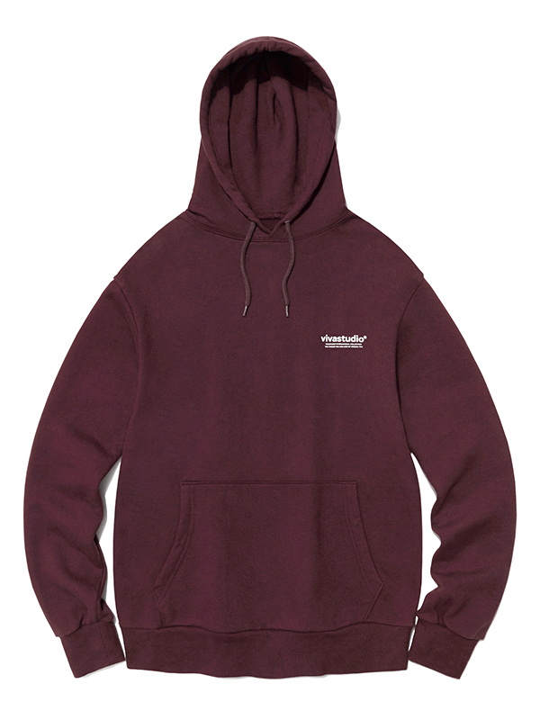 CORPORATE HOODIE HA [BURGUNDY]