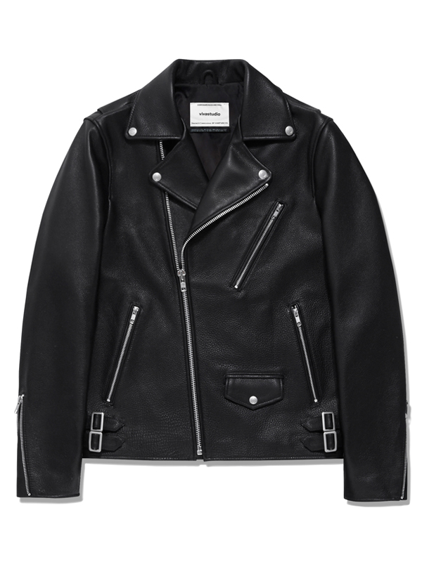 CLASSIC RIDERS JACKET HA [BLACK]