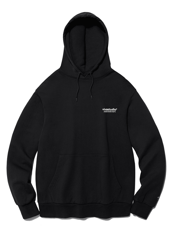 CORPORATE HOODIE HA [BLACK]