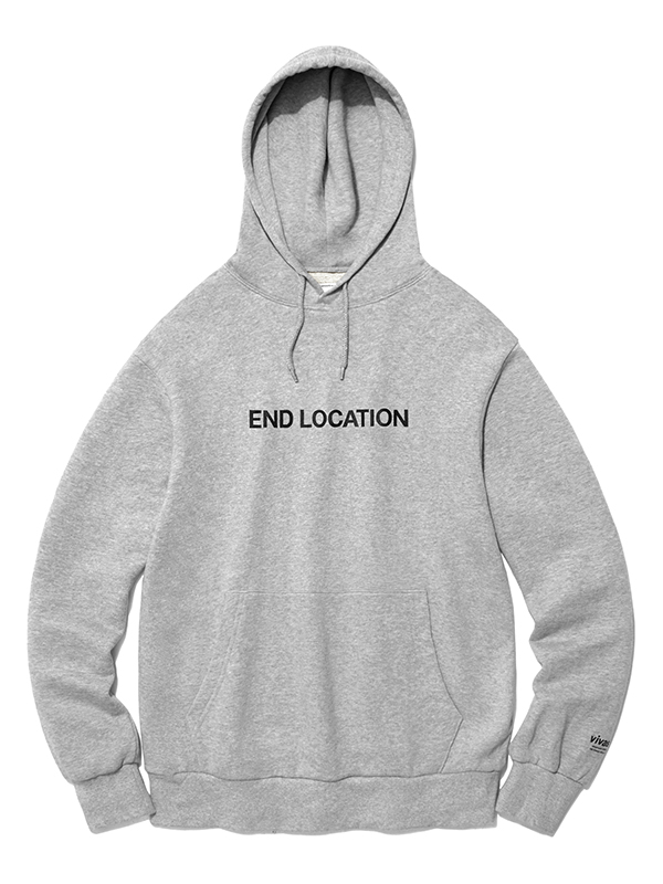 END LOCATION HOODIE HA [MELANGE]
