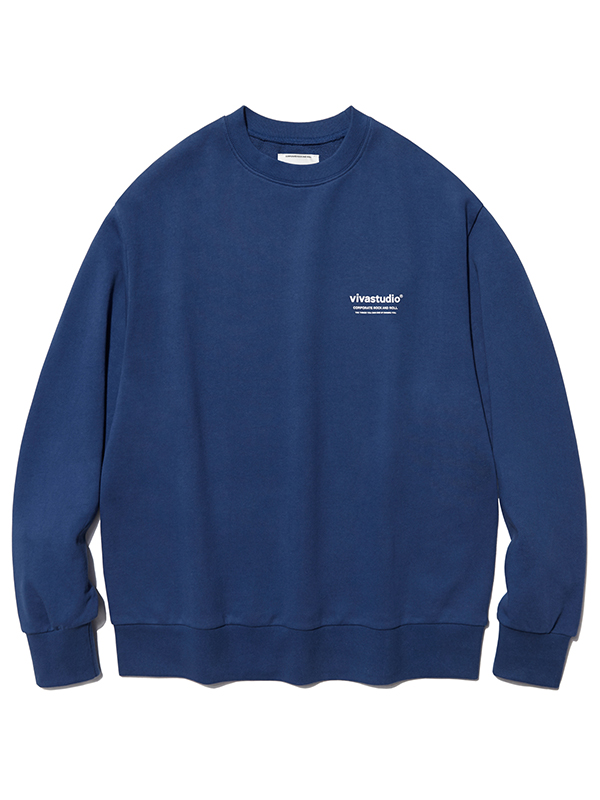 LOCATION LOGO CREWNECK HA [INDIGO BLUE]