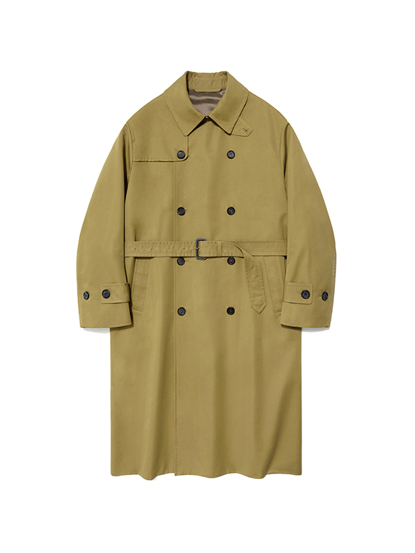 TRENCH COAT HA [MUSTARD]