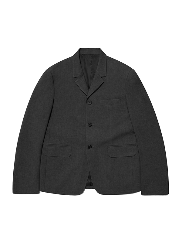 BLAZER JACKET HA [GREY]