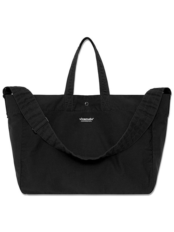 ORIGINAL LOGO 2WAY BAG HA [BLACK]