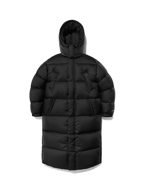 LONG TEAM PARKA HA [BLACK]
