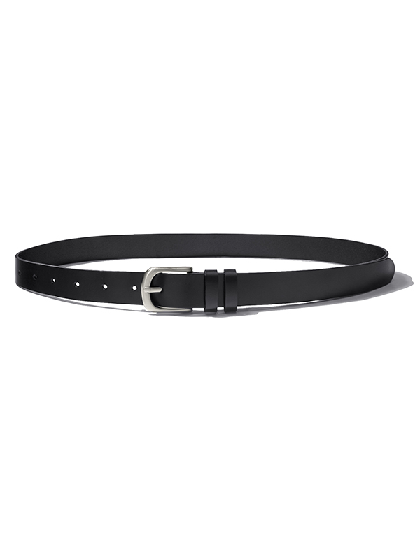 LEATHER BELT HA [BLACK]