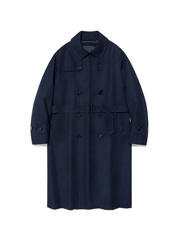 TRENCH COAT HA [NAVY]