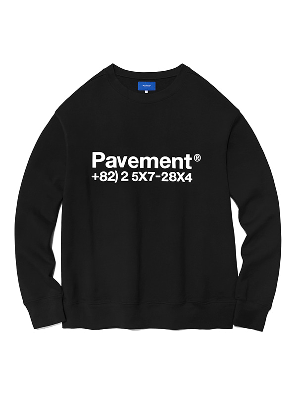 NEW GRAPHIC CREWNECK HA [BLACK]