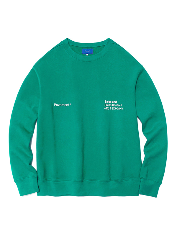 CODE CREWNECK HA [EMERALD]